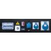 Genmac Combipro RG 5000 HC socketboard